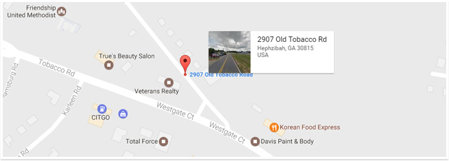 Google map location blount's complete home services fire water restoration termite pest control augusta ga