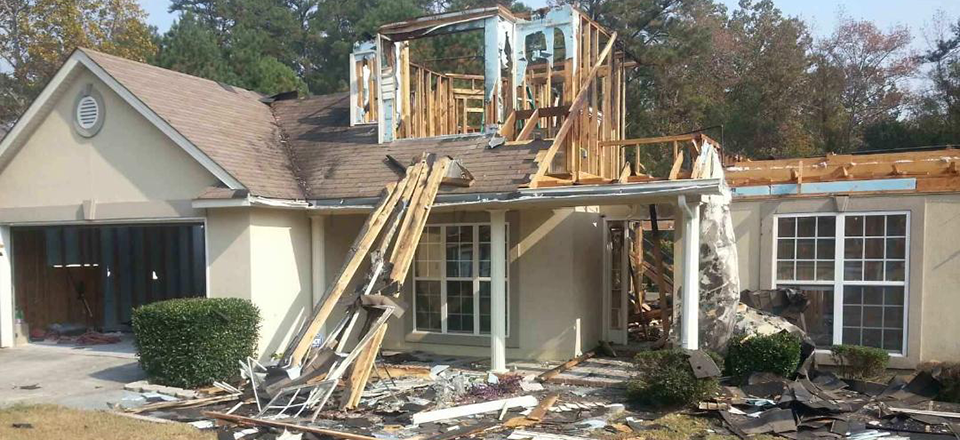 Fire damage home blount's complete home services fire water restoration termite pest control augusta ga